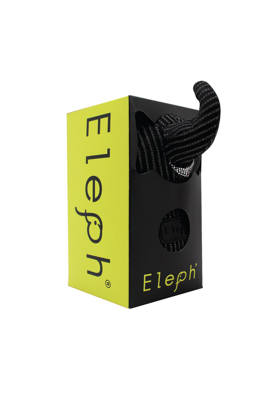 ELEPH FOLDABLE PLEAT LUREX - L : Black / Silver