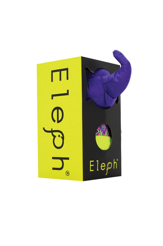 ELEPH PHIKUL - L : Purple / Lime , Pink