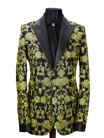 Gold Brocade Jacket