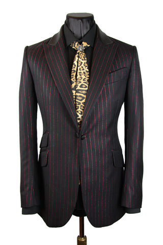 Red Pinstripe Jacket