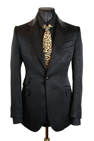 Black Chenille Jacket