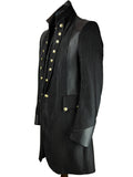Military Stripe Frock Coat