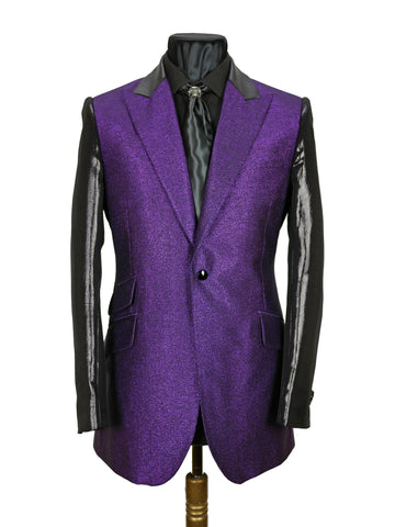Electric Purple Lamé Jacket