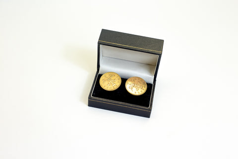 STB Metal Currency Cufflinks