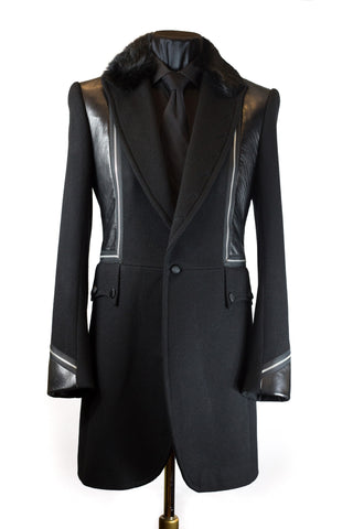Zipped Frock Coat
