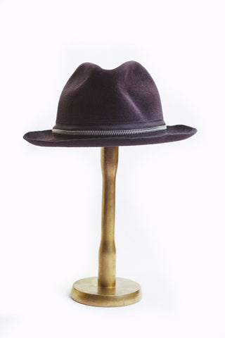 Zipped Homburg