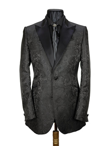 Satin Brocade Jacket