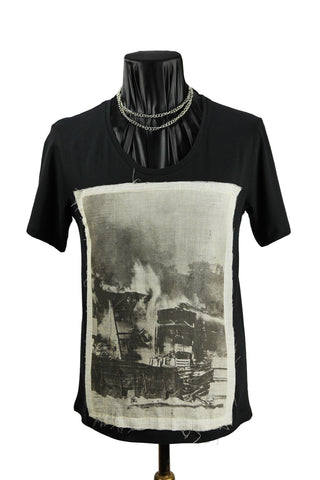 'Warzone' Scoop Neck