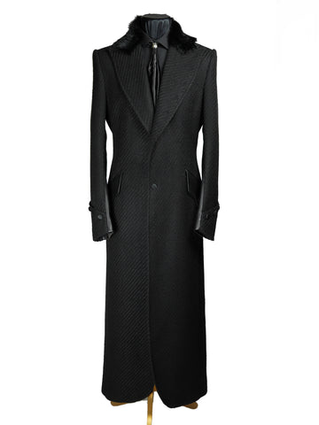 Rope Twill Long Coat