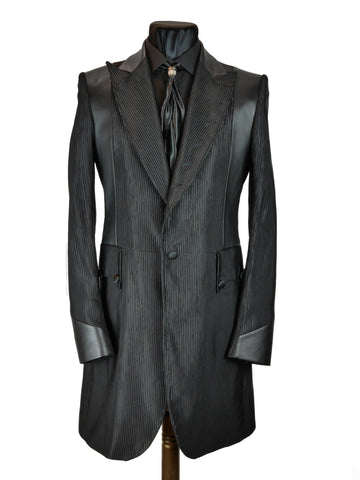 Black Stripe Frock Coat