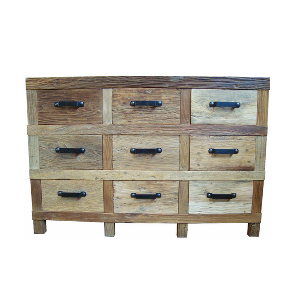INDUSTRIAL IRON SIDEBOARD