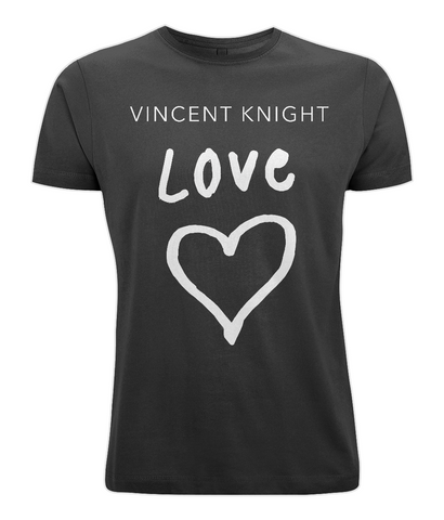 Vincent Knight - Unisex Tee (White - Love)