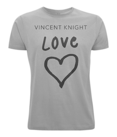 Vincent Knight - Unisex Tee (Black - Love)