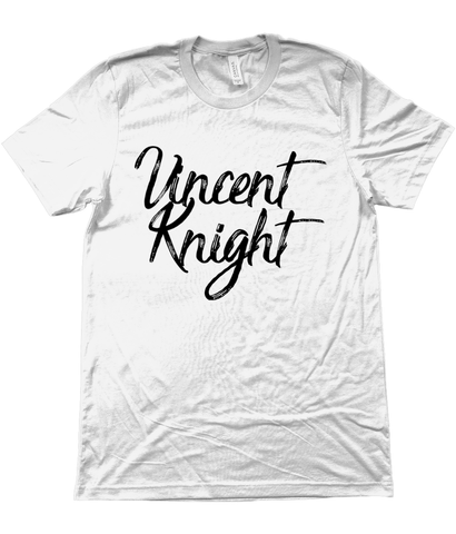 Vincent Knight Logo Tee - White