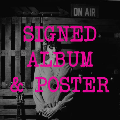 Andrea King - Signed Album Pre-Order & Lyrics Poster