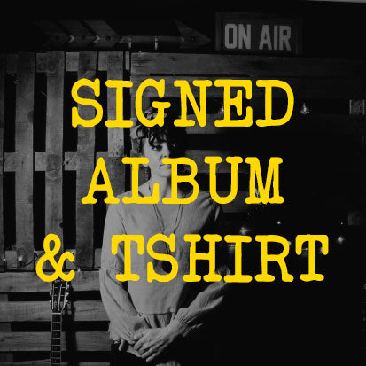 Andrea King - Signed Album Pre-Order & T-Shirt