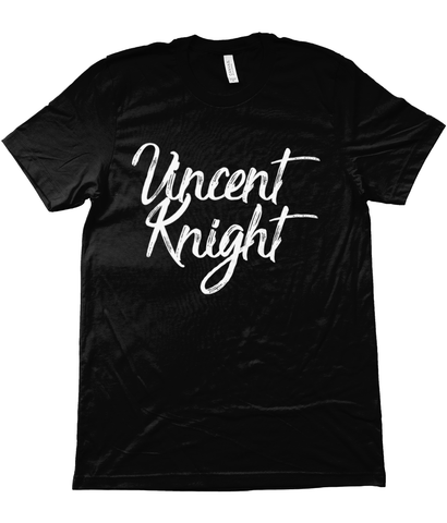 Vincent Knight Logo Tee - Black
