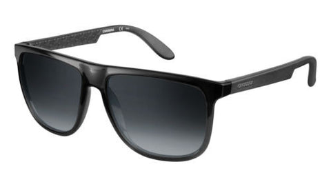 Carrera 5003 Gloss Matte Black DDL 58JJ w/ Grey Gradient 1