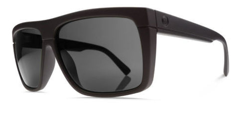 Electric BLACK TOP  Matte Black w/ Grey Polarized