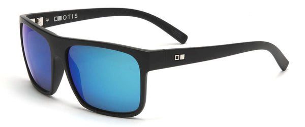 Otis AFTER DARK Reflect Matte Black w/ Mirror Blue Polarised
