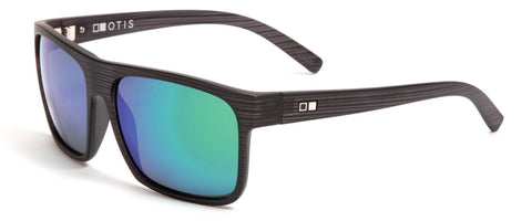 Otis AFTER DARK Reflect Black Woodland Matte w/ Mirror Green