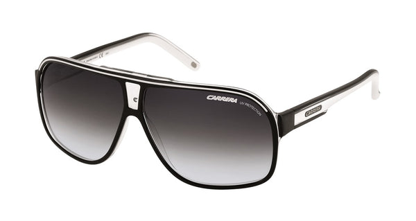 Carrera GRAND PRIX 2  Black White Crystal w/ Dark Grey