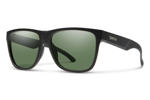 Smith LOWDOWN XL 2 Matte Black w/ Chromapop Grey Green Polarised