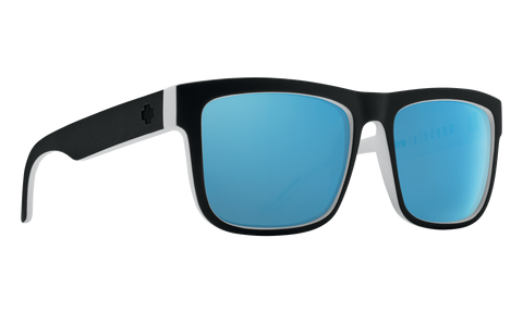 Spy DISCORD Whitewall w/ HD Plus Light Blue Spectra Polarised