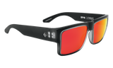 Spy CYRUS Matte Black Ice w/ HD Plus Red Spectra Polarised