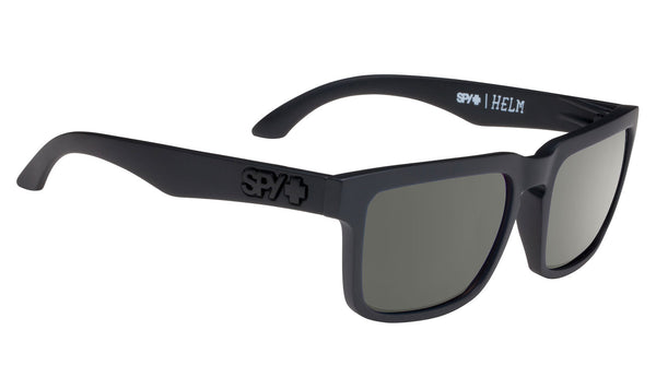 Spy HELM Soft Matte Black w/ Happy Grey Polarized