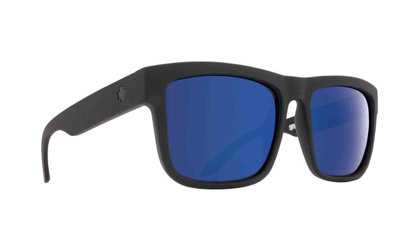 Spy DISCORD Matte Black w/ Happy Blue Spectra Polarized