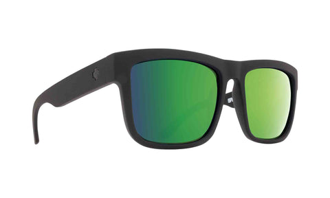 Spy DISCORD Matte Black w/ Happy Green Spectra Polarized