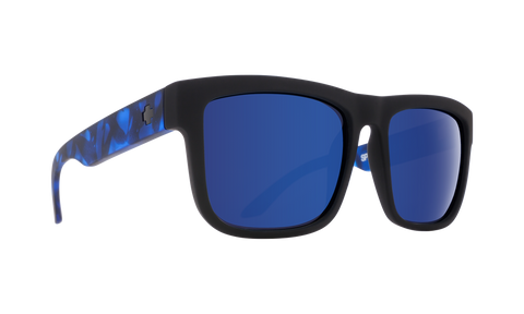 Spy DISCORD Soft Matte Black / Navy Tort w/ Happy Navy Spectra