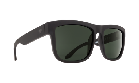 Spy DISCORD Soft Matte Black w/ HD Plus Grey
