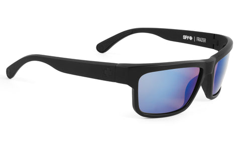 Spy FRAZIER Matte Black w/ Happy Blue Spectra Polarized