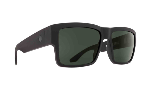 Spy CYRUS Matte Black w/ HD Plus Grey