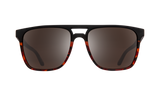 Spy Czar Matte Black & Tort Fade w/ HD+ Black Spectra Mirror Polarised