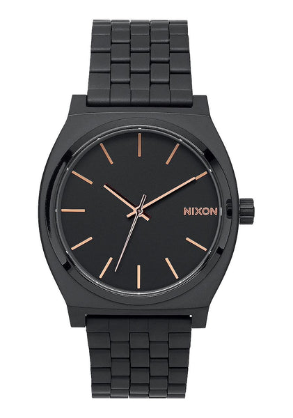 Nixon TIME TELLER All Black / Rose Gold