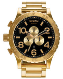 Nixon 51-30 Chrono All Gold / Black