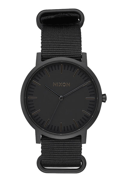 Nixon Porter Nylon All Black