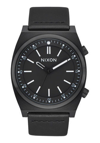 Nixon BRIGADE LEATHER All Black