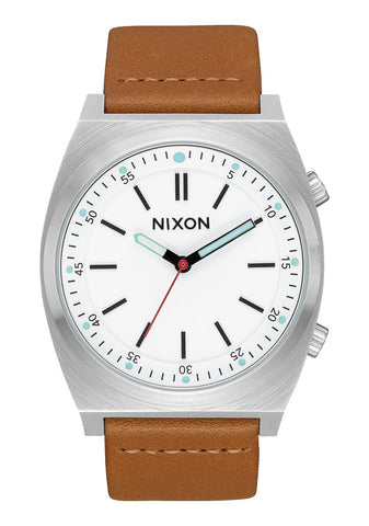 Nixon BRIGADE LEATHER Cream / Taupe