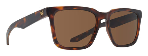 Dragon BAILE Matte Dark Tortoise w/ Brown Polarised LumaLens
