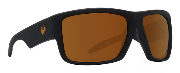 Dragon DEADLOCK H2O Matte Black w/ Copper Ion Polarised