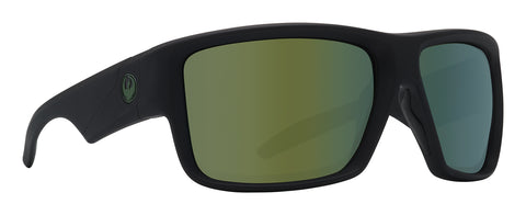 Dragon DEADLOCK H2O Matte Black w/ Petrol Polarised