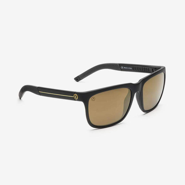 Electric KNOXVILLE S Black / Gold Strip w/ Bronze Polarised