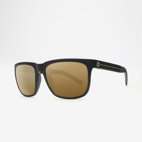 Electric KNOXVILLE XL S JJF Matte Black / Gold Stripe w/ Bronze Polarized