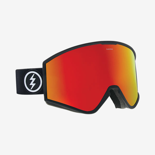 Electric 2019 KLEVELAND Matte Black w/ Red Chrome BROSE + Bonus lens