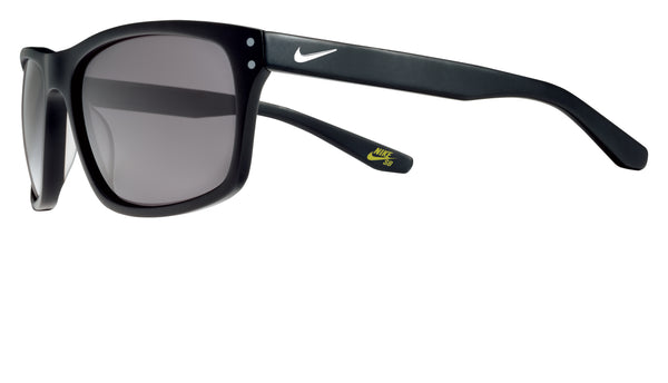 Nike SB FLOW P Matte Black / Silver w/ Grey Polarised