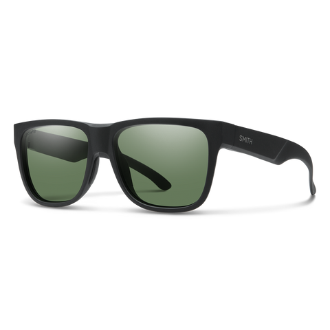 Smith LOWDOWN 2 Matte Black w/ Chromapop Grey Green Polarised